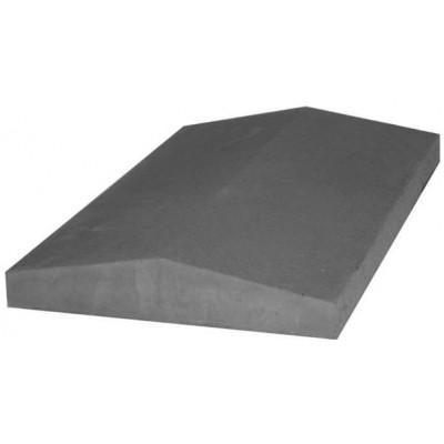 Накрывка,крышка на парапет бетонная 390х270