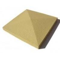 Шапка,крышка на столб бетонная 390х390
