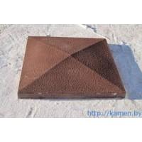 Шапка,крышка на столб бетонная 490х490